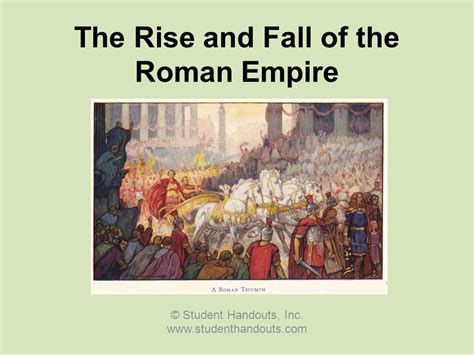 The Rise And Fall Of Images by The Rise And Fall Of The Empire Ppt