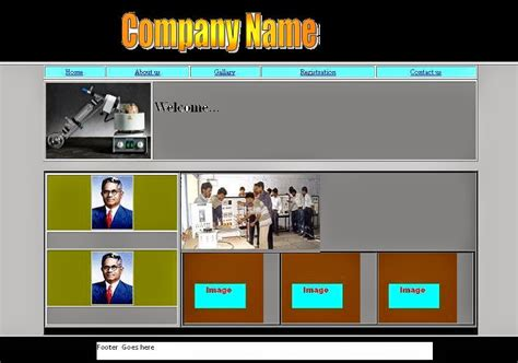 css layout source code html5 css3 create template using html table tag