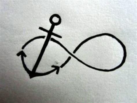 infinity tattoo stencil 59 infinity anchor tattoos ideas