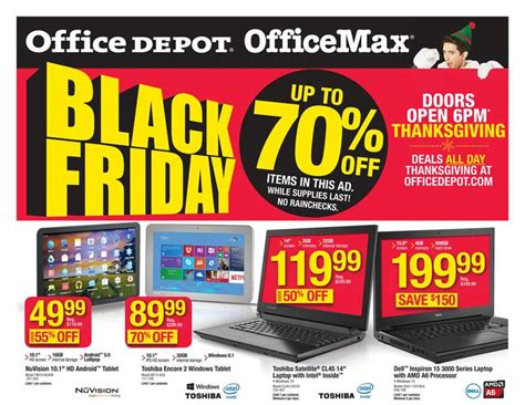 office depot black friday ad 2015 money saving 174