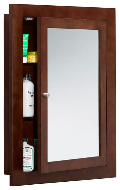 cherry wood bathroom medicine cabinet ronbow frederick 24 quot x32 quot solid wood framed bathroom