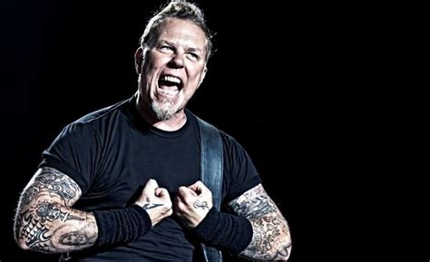 metallica lead singer metallica lead singer james hetfield joins extremely