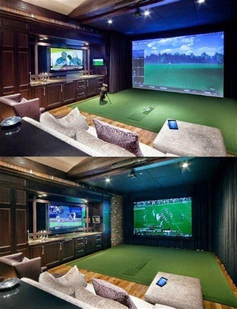 best 25 golf simulators ideas on cave