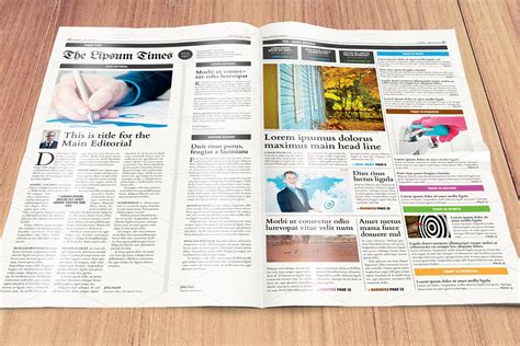 tabloid layout design inspiration newspaper template compact tabloid by mikko lemola on