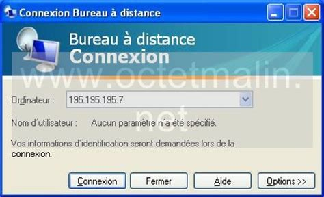 windows bureau à distance windows xp bureau 224 distance connexion