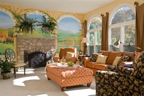 living room wall murals stupefying microfiber chair and ottoman decorating ideas