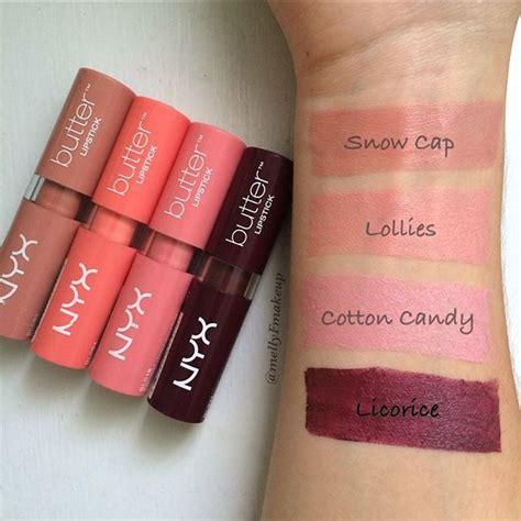 Lipstik Nyx Butter best 25 nyx butter lipstick ideas on nyx