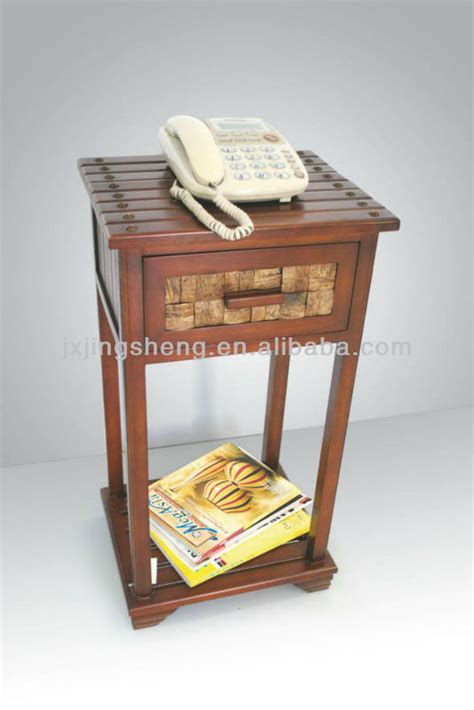 Antique Telephone Cabinet by Wooden Antique Telephone Stand And Cabinet Table Buy