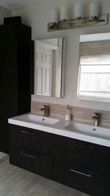 ikea master bathroom my bathroom remodel modern and practical pfister venturi faucet ikea godmorgon cabinets and