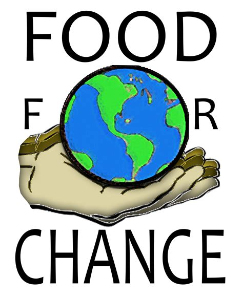 design by humans profit logo design for food for change by the paisley paperie