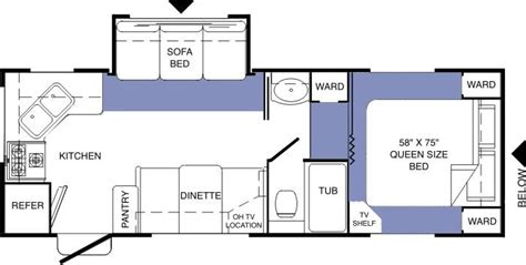 komfort rv floor plans 2004 komfort komfort fw fifth wheel rvweb