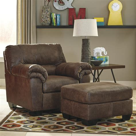 ashley signature design bladen casual faux leather chair