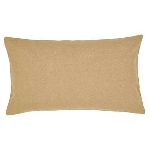Pillow Sham by Burlap Solid Country King Pillow Sham Ebay