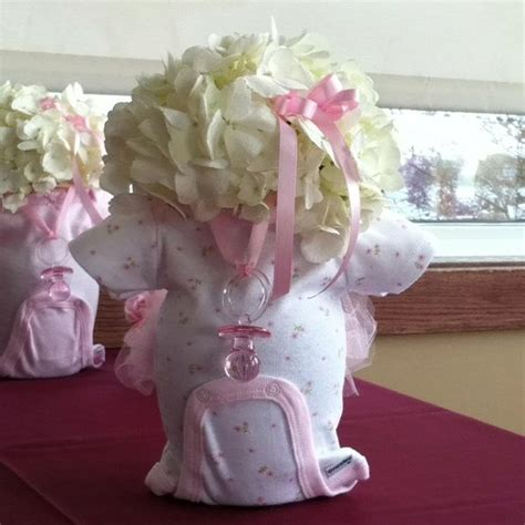 center pieces for a baby shower baby shower centerpieces invitations ideas