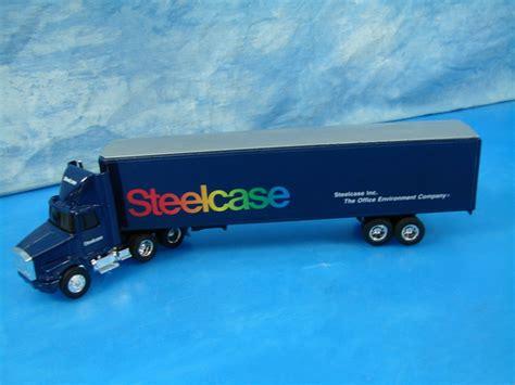 volvo gm heavy truck ertl 1 64 scale die cast metal steelcase semi truck 2075