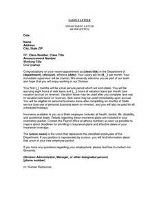 Appointment Getting Letter Business Appointment Letter This Letter Is Used In Any