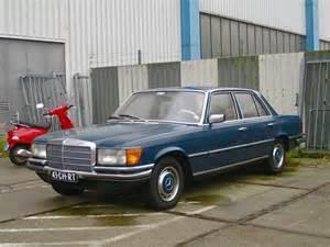 Mercedes W116 1974 Mercedes W116 280s The New W116 S Class Was