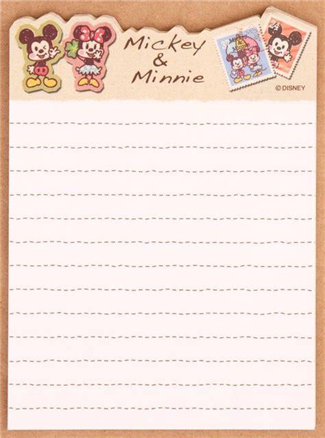 como hacer a mickey mouse en hoja cuadriculada a cuadritos juego papel de carta mini mickey minnie mouse jap 243 n
