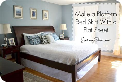 bed skirt   platform bed diy platform
