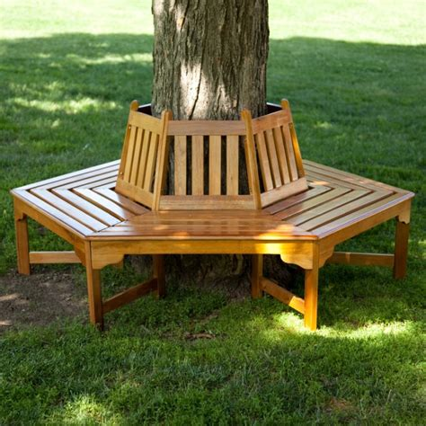 bench around the tree tree bench ideas for added outdoor seating