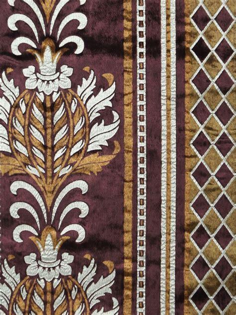 antique velvet curtains maia antique damask grommet velvet curtains