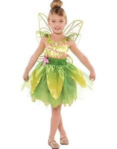 tinkerbell halloween costume party city girls classic tinkerbell costume party city