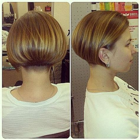 charming stacked bob hairstyles   brighten  day