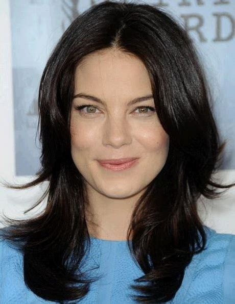 hairstyles for dark hair oval face medium length hairstyles for oval faces