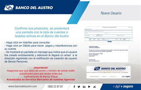 banca virtual banco del austro gt canales gt banca virtual gt nuestra banca