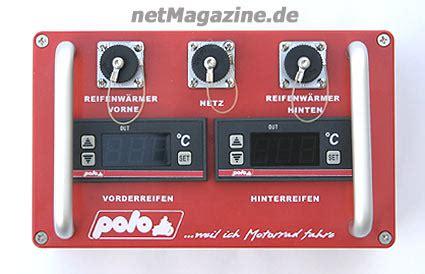 Motorrad Reifen Warmfahren by Netmagazine Reifenw 228 Rmer Von Polo Motorrad Tuning
