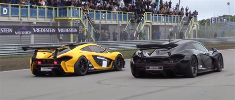 """The Moment When a McLaren P1 GTR One Ups a """"Normal"""" P1 on"""