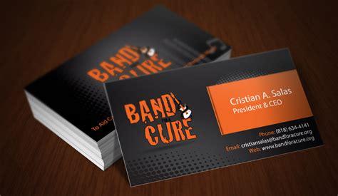 band cards portfolio website designer specialist and graphic