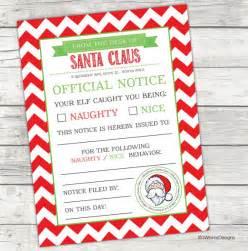 free printable elf on the shelf nice list elf on the shelf naughty or nice list printable elf on