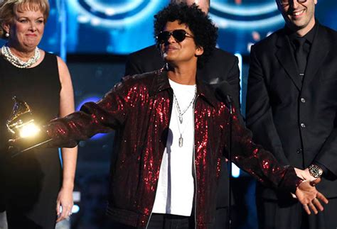 song of the year bruno mars sweeps the grammys winning song album of the