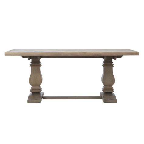 Gray Dining Tables Home Decorators Collection Aldridge Antique Gray Dining Table 9415100270 The Home Depot