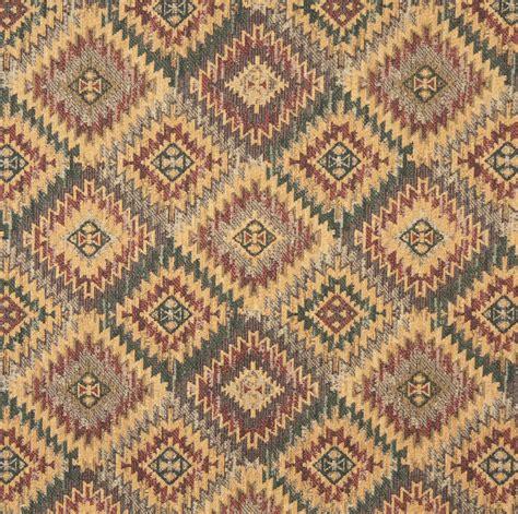 southwest upholstery fabric j767 southwest diamond upholstery fabric gold green grey