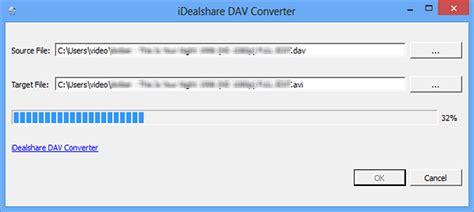 format dav converter batch convert dav to avi mp4 mpg with dav converter for