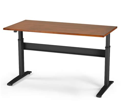 sit stand desk wood vertdesk v3 electric sit stand desk solid wood top