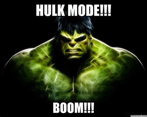 Hulk Smash Meme - hulk mode