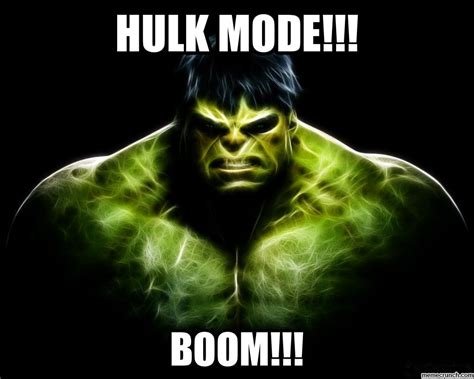 Memes De Hulk - hulk mode