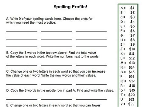 printable word games for 4th graders fourth grade worksheets for fun spelling practice
