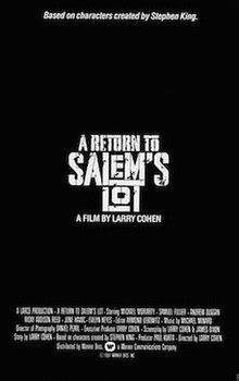 A Return to Salem's Lot - Wikipedia