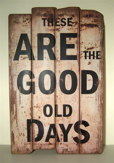 Signs And Plaques Home Decor Vintage Stlye Wooden Wall Plaque Hanging Sign These Are The Days Signs And Plaques