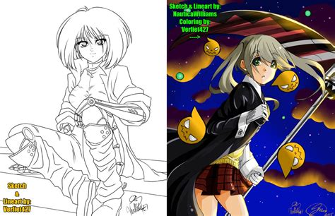 V Anime Collaboration Femme by Collaboration With The Nauticawilliams Owo By Verliet427