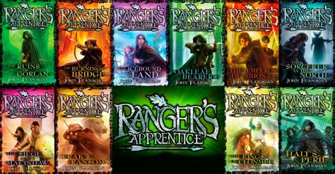 the series books the narrative causality ranger s apprentice series by
