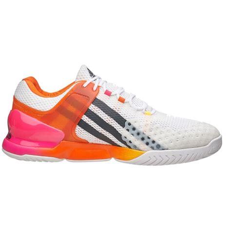 adidas s adizero ubersonic tennis shoes white orange pink do it tennis