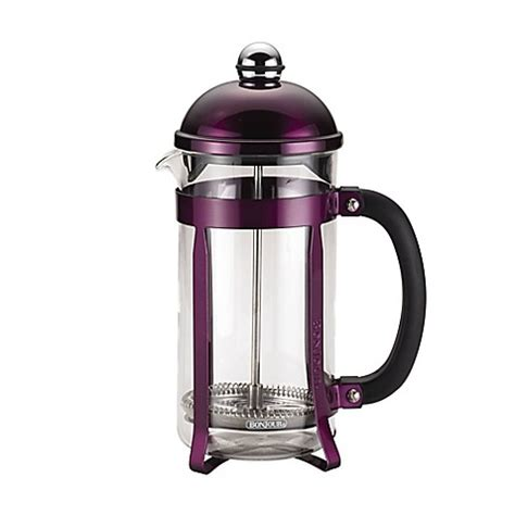 french press bed bath and beyond bonjour 174 coffee and tea maximus 8 cup french press bed