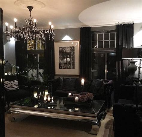 gothic rooms luxury gothic living room modern gothic glam www
