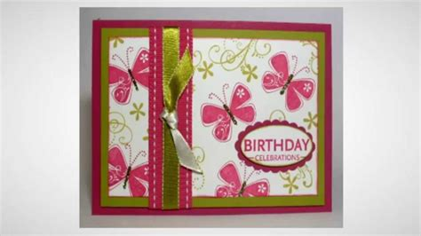 Handmade B Day Cards - handmade birthday cards 68 unique diy b day card design