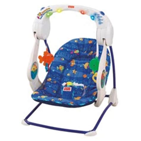 ocean baby swing fisher price ocean wonders aquarium take along swing